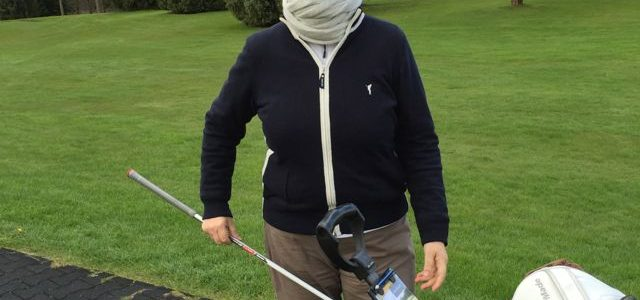 The bad and good in golf